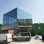 Фото: Строительство павильона Молдовы на World Expo