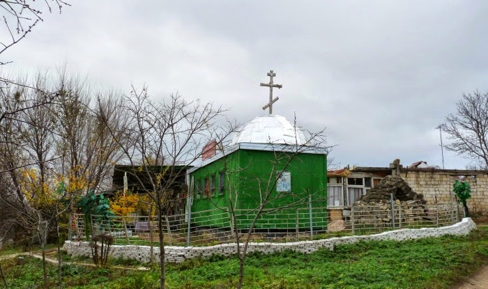 Церковь у Петриканского кладбища, 2013 год