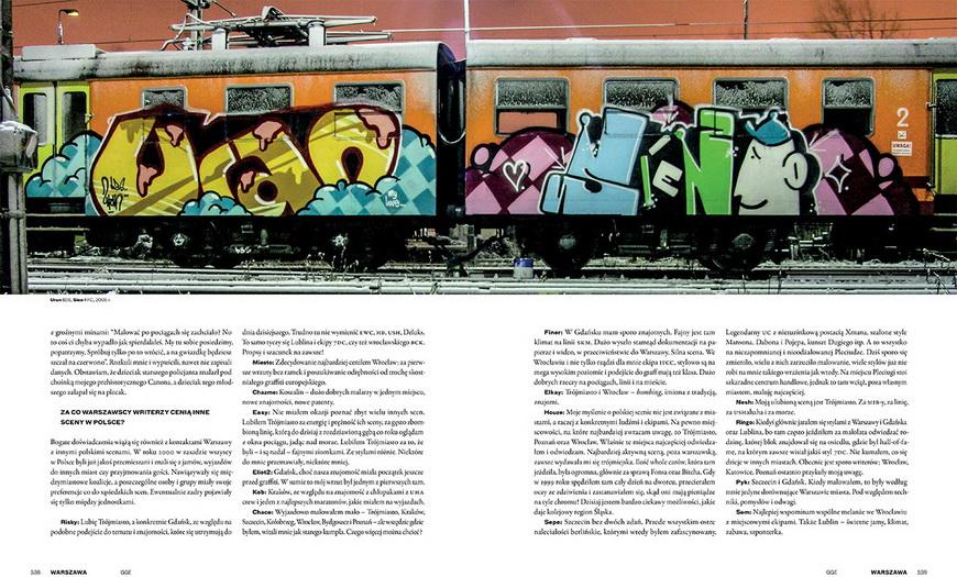 Разворот альбома «Graffiti Goes East 1990-2012», фото: материалы прессы