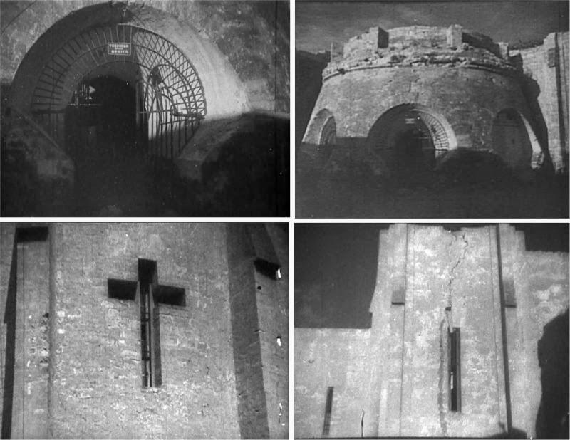 Последствия землетрясения ноября 1940 года.