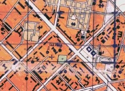 На плане Кишинёва 1982 года кладбище также отмечено (в центре, зелёный прямоугольник).