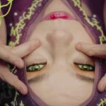 Видео: Живая обложка альбома к альбому Бьорк Vulnicura