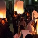 Фоторепортаж: 100 небесных фонариков в ознаменование 100-летия геноцида армян