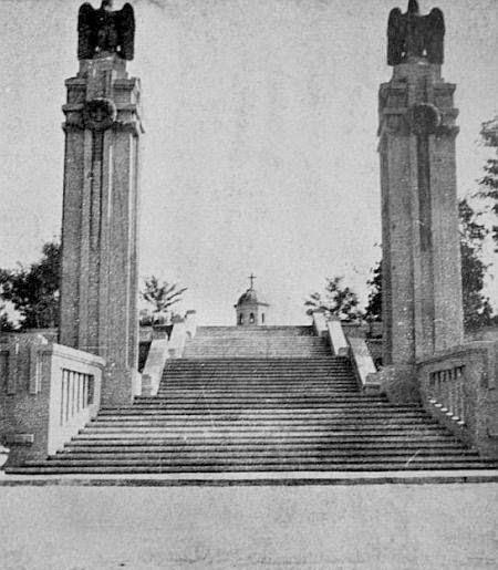 1942 год. Вход и лестница.