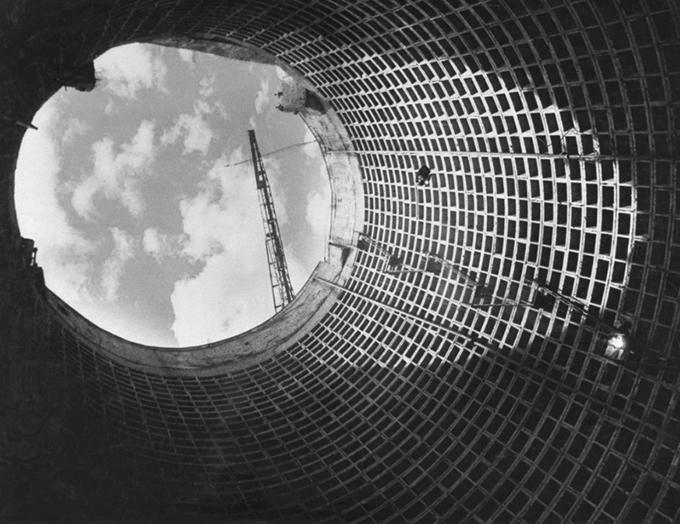 Стройка. 1950
