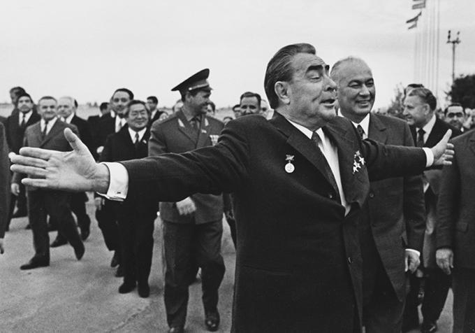 Широкая натура. Приезд Л. Брежнева в Узбекистан. 1970