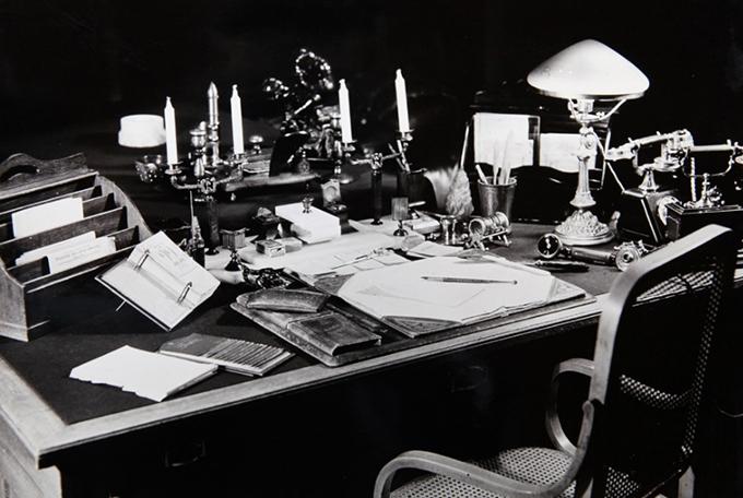 Стол Ленина. 1950