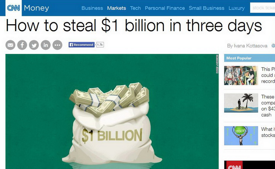 How-to-steal-$1-billion-in-three-days