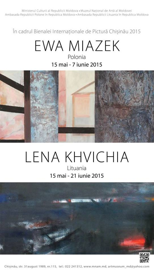 expozitiaLena-Khvichia-Ewa-Miazek