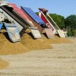 Идёт восстановление общественного пляжа на озере Гидигич