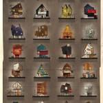 27 воображаемых домов знаменитых режиссёров в работах Федерико Бабины