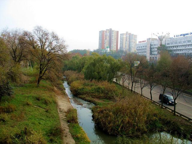 Набережная реки Бык. Наше время. Фотография:  Ольга Ершова getImage