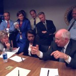 Фотография: опубликованы снимки американского правительства в день 9/11