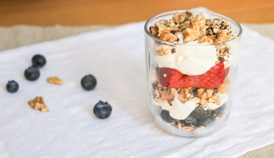 Berry oat layer
