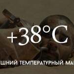 Цифра дня: кишиневская жара