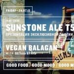 Sunstone Ale & Vegan balagan @ Terrasa Tipografia 5