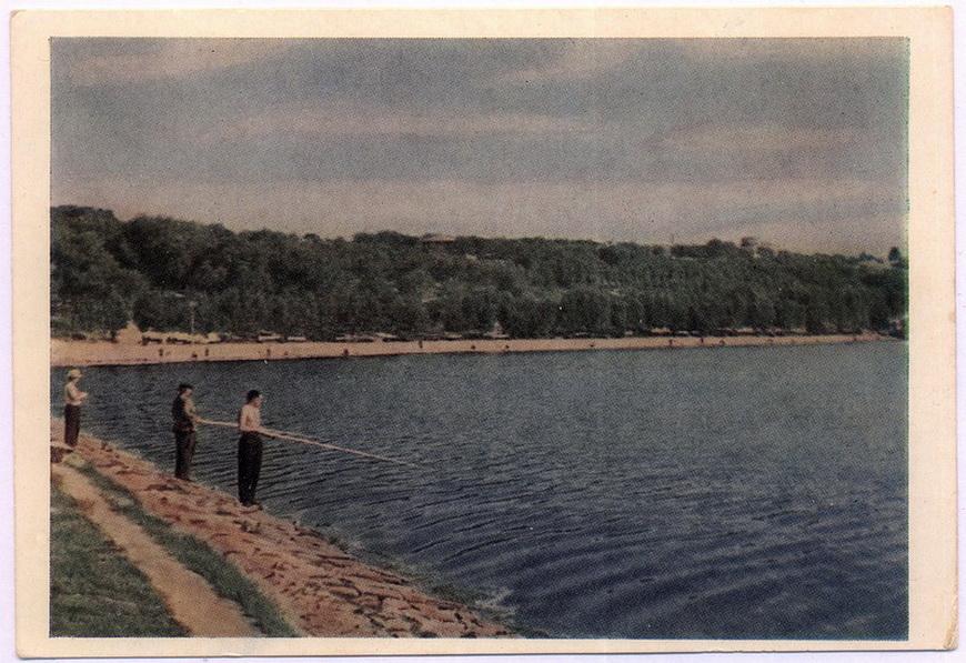Кишинёв - Комсомольское озеро (фото И.Шагин)