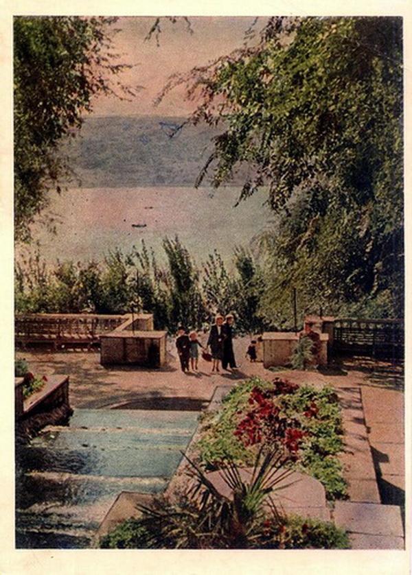 Кишинёв - в Центральном парке культуры и отдыха, Каскадная лестница