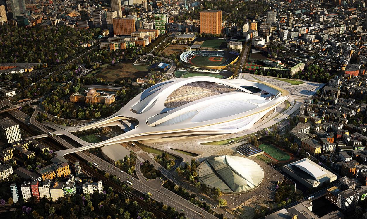 Национальный стадион в Токио, Япония