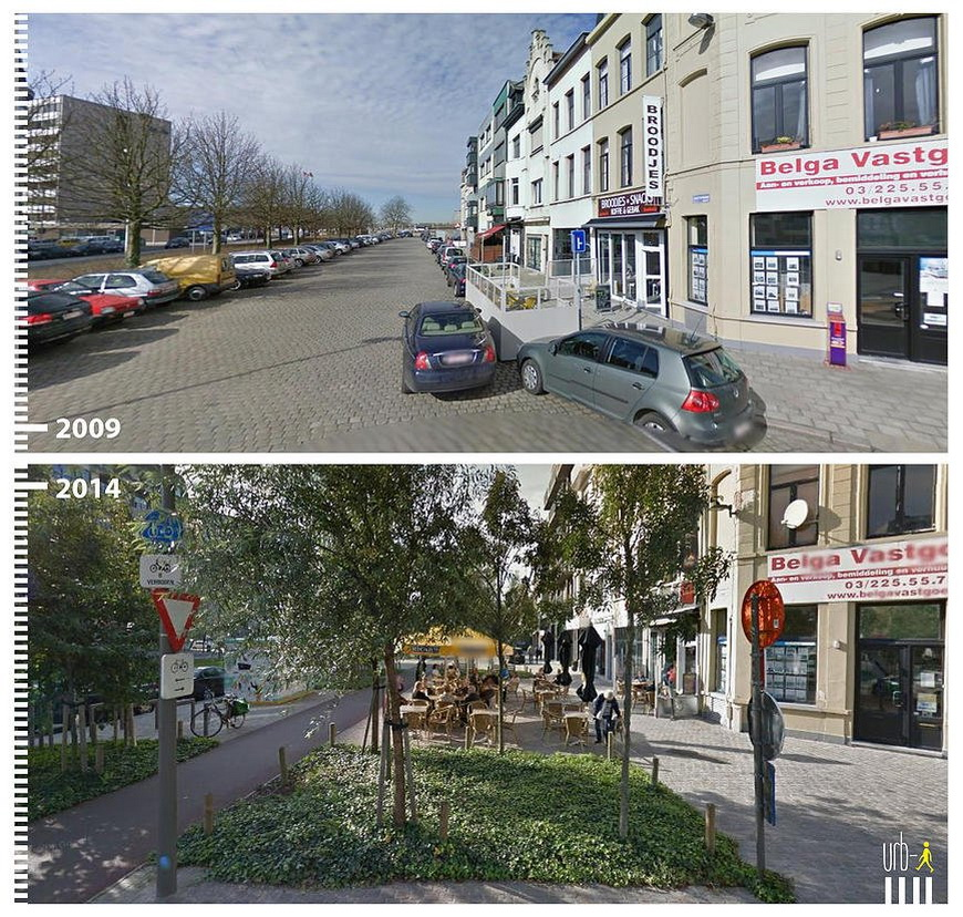 Amsterdamstraat, Antwerp, Belgium.