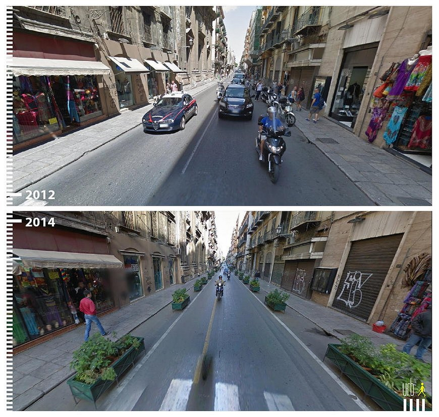 Via Maqueda, Palermo, Italy.
