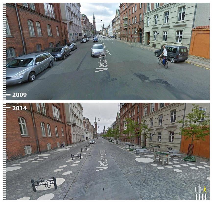 Vester Voldgade, Copenhagen, Denmark.