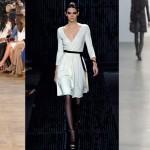 Обзор модных платьев на холодный сезон
