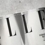 Новый номер австралийского журнала ELLE вышел с зеркальной обложкой