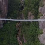 В Китае открылся самый длинный подвесной стеклянный мост