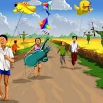 Дети войны: Скандальные иллюстрации о светлом «настоящем», которого нет