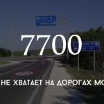 Цифра дня: сколько дорожных знаков не хватает на молдавских дорогах