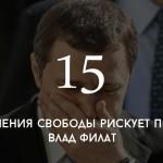 Цифра дня: какой срок грозит Владу Филату