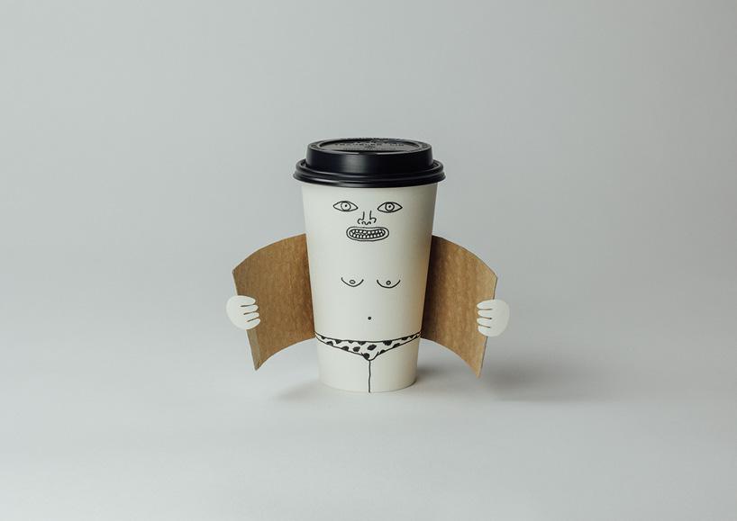 Чашка-кофе эксгибиционист, 2011 (dismaland version, 2015) photograph 29.7 x 42 cm / 11.7 x 16.5 in