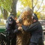 В Одессе на выборах полиция зарежала Чубакку