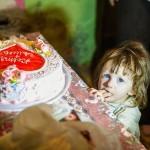 Вместо свадебных подарков молодожёны собрали необходимые вещи для многодетной семьи из Дончен