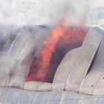 На Буюканах сгорел торговый склад