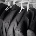Лукбук коллекции осенних пальто местной марки MIRA.