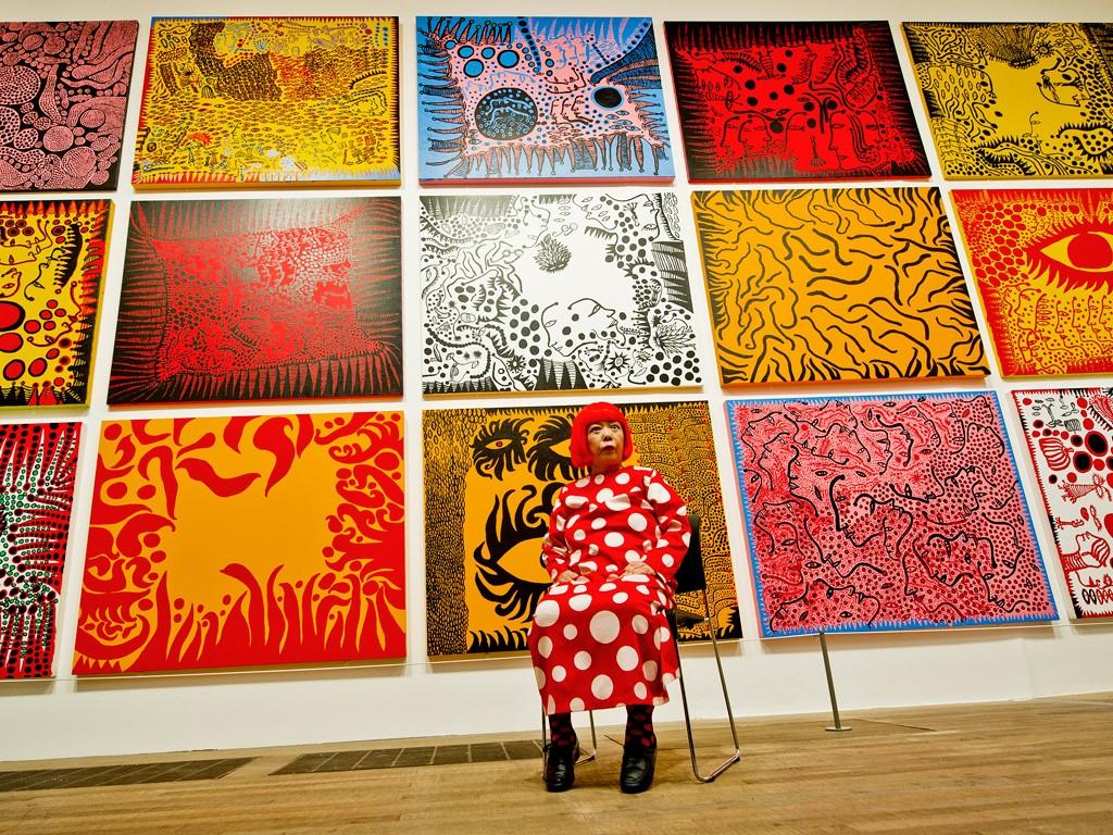 Yayoi Kusama retrospective at Tate Modern