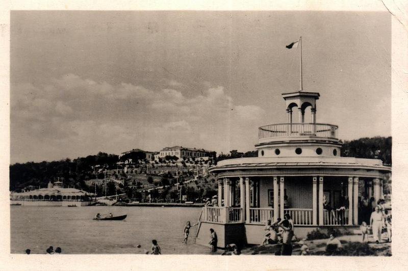 Кишинёв - Комсомольское озеро (фото М.Розенберг) 1956