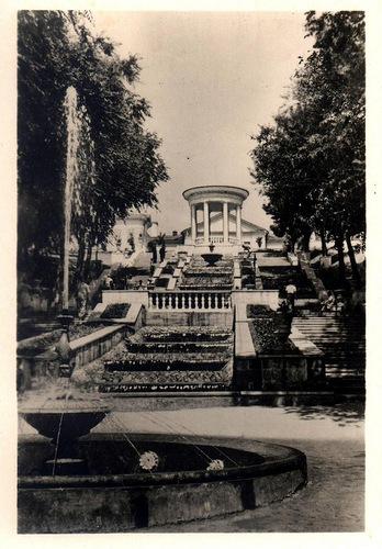 Кишинёв - Каскадная лестница в ЦПКиО (фото Д.Яцкул) 1956