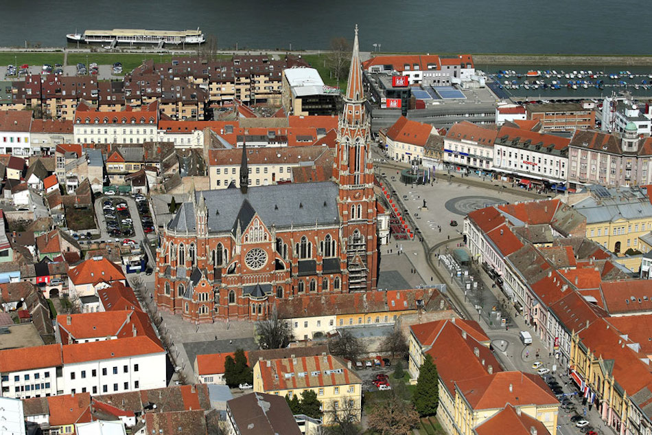 Город Осиек в Хорватии. Фото Glas-slavonije.hr, Pixsell
