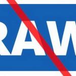 Reuters ввело международный запрет на фотографии RAW