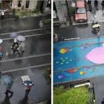 Компания PANTONE придумала, как оживить город во время дождей