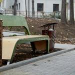 Scuarul Rareș din Chișinău este gata amenajat. A fost inaugurat oficial în acest weekend