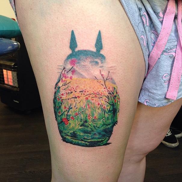 06-Ghibli-Tattoos