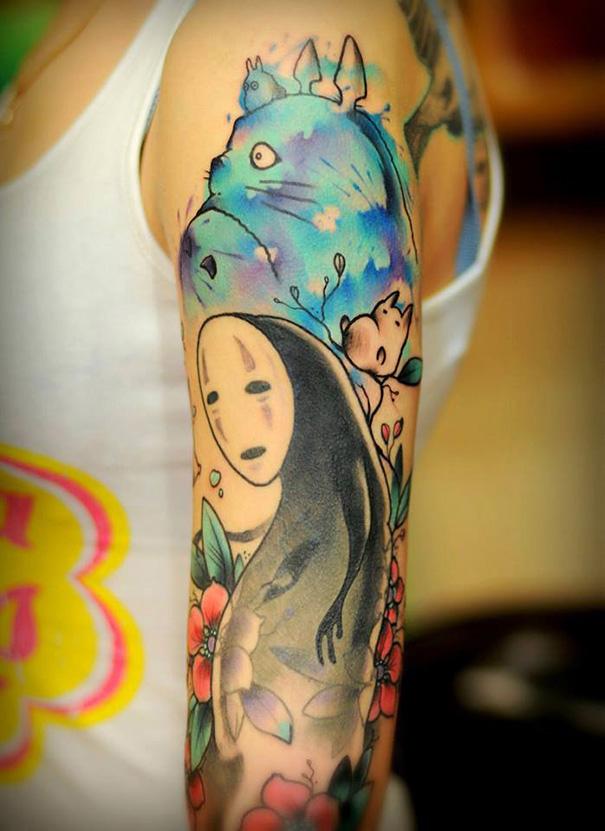 12-Ghibli-Tattoos