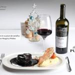 Wine Friendly: Vinohora în Roșu Rară Neagră & Malbec  и говяжий стейк от Pegas