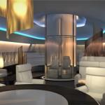В США спроектировали прозрачную панорамную кабину на крыше самолета