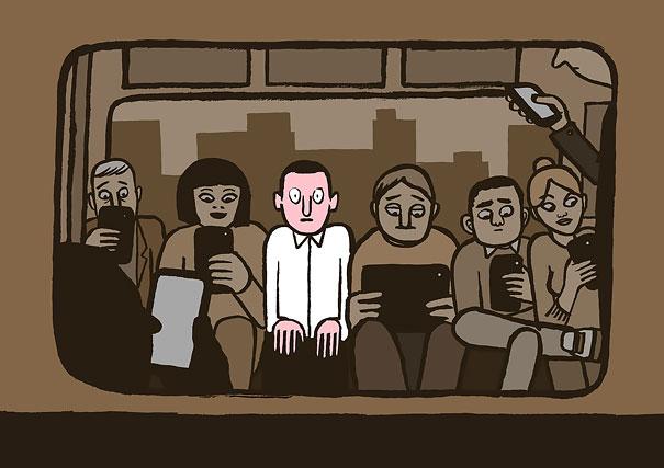 05-satirical-illustrations-addiction-technology