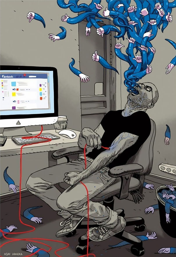 06-satirical-illustrations-addiction-technology
